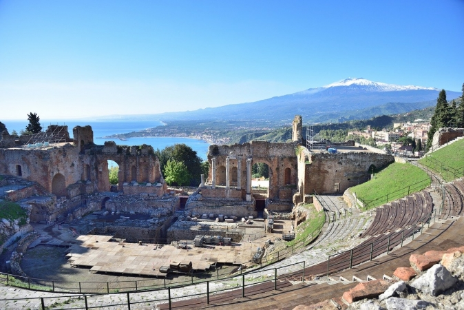 TAORMINA, ETNA e CATANIA, con volo da Cagliari, 4 giorni ITALIA dalla Sardegna